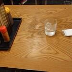 みゆき食堂 - テーブル