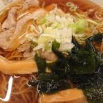 みゆき食堂 - ラーメン¥500(税別)