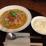 パンチマハル - キーマめん(小ライス付)¥950