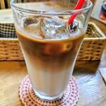 よもぎ田cafe - アイスカフェラテ✨