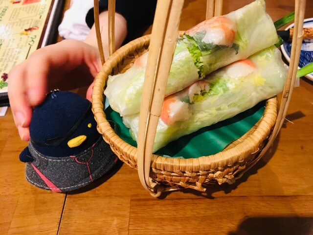 オールドサイゴンの料理の写真