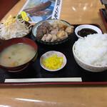 お食事処 大元 - 料理写真:焼肉定食800円(ランチは700円)