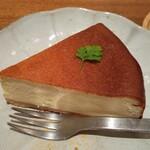 玄三庵  - チーズケーキ