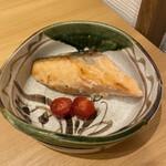 和食 雄 - サーモンの味噌漬け