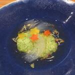 蕎麦割烹  倉田 - 蓴菜天の川寒天