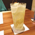 蕎麦割烹  倉田 - 檸檬生搾るりサワー