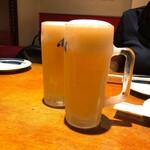 YAKITORI NSP! - 生ビール