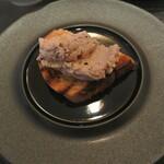 リストランテ カノフィーロ - 鶏白レバーのクロスティーニ