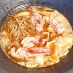 柚木元 - 天然極上猪すき焼き