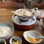 ふじた食堂 - 肉なべ定食¥850
