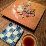 Shokkan shibuya - お刺身三種