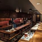 Shokkan shibuya - 店内フルオープンキッチン