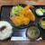 おおくら - 料理写真:フライ盛り合わせ定食 1,000円 + ご飯大盛り 50円 = 1,050円。      2020.07.02
