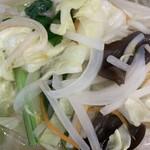 三富 - シャキシャキの野菜たち