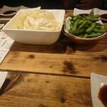 くしわか - 料理写真:キャベツと枝豆