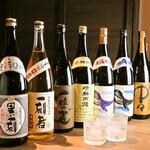 串焼黒松屋 - 種類豊富の日本酒