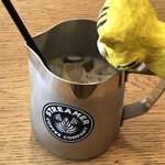 ストリーマー コーヒーカンパニー - キトランが言いました、あれ?少なくない?氷は多いけど