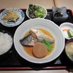 築地さかな一番 - さば生姜煮ランチ 680円
