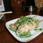 串花 - ハイトリー美味しいです。一度たべてみて(焼き鳥の創作だとおもっていただければ)