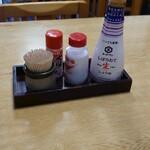 大甚 - 料理写真:テーブルの卓上