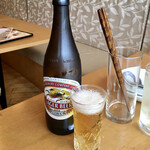 Chuukaryourishinyue - 瓶ビール@750円