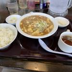 南京亭 - 麻婆豆腐定食