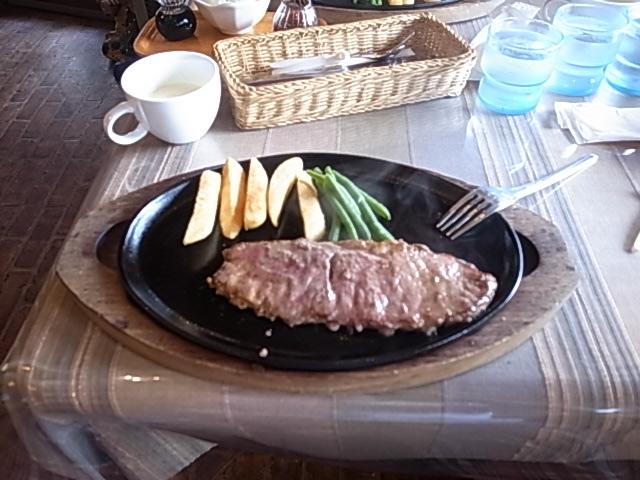 ステーキにこにこ牛