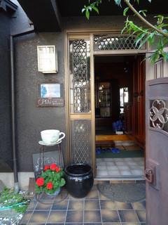 チャイハナ  - 玄関から入ります