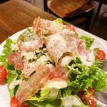 Pizzeria Bar Trico - 生ハムシーザーサラダ 850円