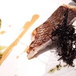 AZUR et MASA UEKI - ⚫豊潤The Rich & Luxury「旬鮮魚 空豆 甘海老」