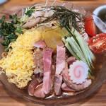 魚介醤油ラーメン 和屋 - 豚冷やし(2020年夏)1500円