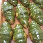 プチ ソレイユ - 料理写真:抹茶クロワッサン