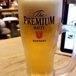 水炊き・焼鳥 とりいちず酒場 - 生ビール