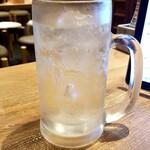 水炊き・焼鳥 とりいちず酒場 - タカラ焼酎ハイボール