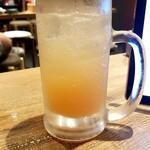 水炊き・焼鳥 とりいちず酒場 - グレフルサワー
