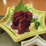 HATSUMOMIJI - いわし鯨の刺身