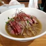 麺バル RIKI - 牛タンチャーシューそば