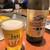 ねぎ焼やまもと - ドリンク写真:ねぎ焼やまもと@梅田エスト店 瓶ビール