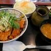 とん八 - 料理写真:冷やしかつ丼ランチ