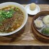月季花 - 料理写真:担々麺と蒸し點心セット