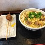 132646996 - 肉うどん大2玉¥630                       おでんの玉子¥100                       by masakun