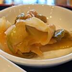 紅虎餃子房 - 搾菜(日替りランチ)