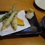 魚男 - 小鮎天ぷら