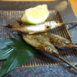 魚男 - 小鮎塩焼き