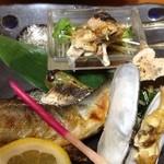 桐壺 - すっぽんコース 焼きすっぽんと鮎