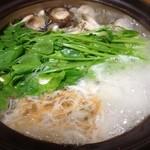 桐壺 - すっぽんコース 鍋