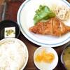 一膳や - 料理写真:日替わり定食Aランチ。この日は、チキンチーズカツ
