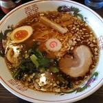 福田 中華そば - 煮干し味玉+中盛り