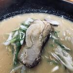 132659135 - 醤油でヤワヤワに煮込まれたチャーシュー。