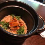 小割烹 おはし - 穴子と生姜の羽釜ごはん